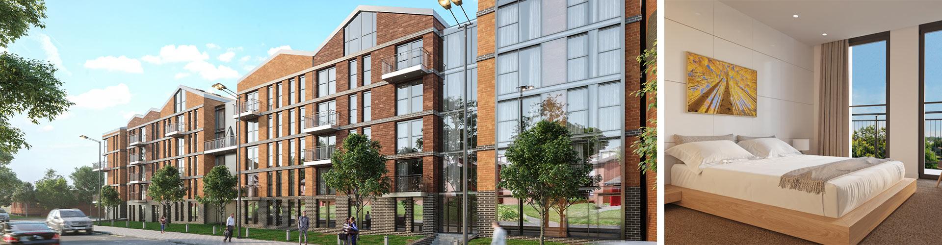 Arden Gate Apartments, Birmingham Banner