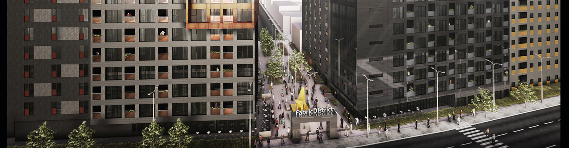Fabric Village, Early Stage Development in Liverpool Banner