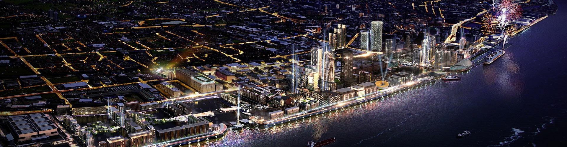 Park Central, Central Docks, Liverpool Banner